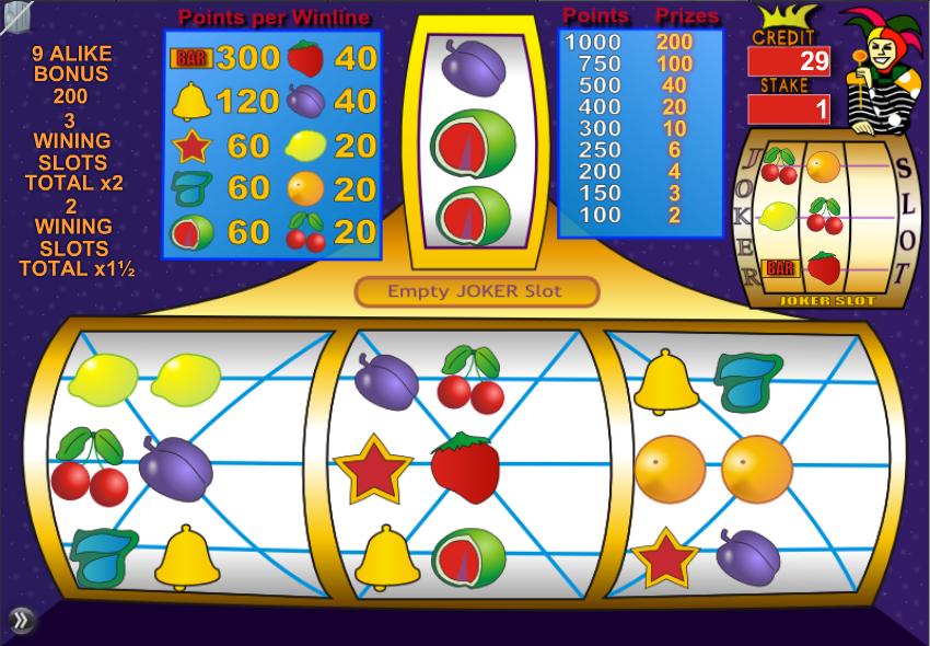 Slot Joker - Permainan Kartu & Papan - Permainan Online Ekstra - Permainan online gratis